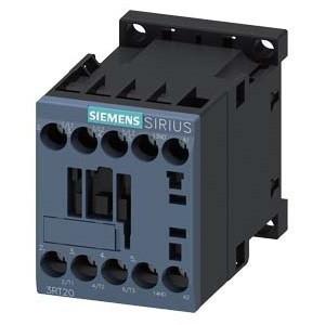 Siemens, Sirius, 3RT2017-1AF01, 3RT20171AF01, Mágneskapcsoló, 5,5Kw/12A (400V, AC3), 110V AC 50/60 Hz vezerlés, 1Z segédérintkezővel, csavaros csatlakozás, S00 méret, Sirius (Siemens 3RT2017-1AF01)