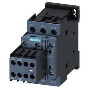 Siemens, Sirius, 3RT2024-1AL24, 3RT20241AL24, Mágneskapcsoló, 5,5Kw/12A (400V, AC3), 230V AC 50/60 Hz vezerlés, 2Z+2Ny segédérintkezővel, csavaros csatlakozás, S0 méret, Sirius (Siemens 3RT2024-1AL24)