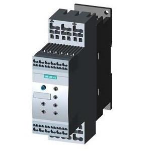 Siemens, 3RW4024-2BB14, 3RW40242BB14, lágyindító 12.5A, 3f 3-5.5Kw 200-480V motorokhoz, 110..230V AC/DC vezérlő feszültség, rugós csatlakozás, S0 méret (Siemens 3RW4024-2BB14)
