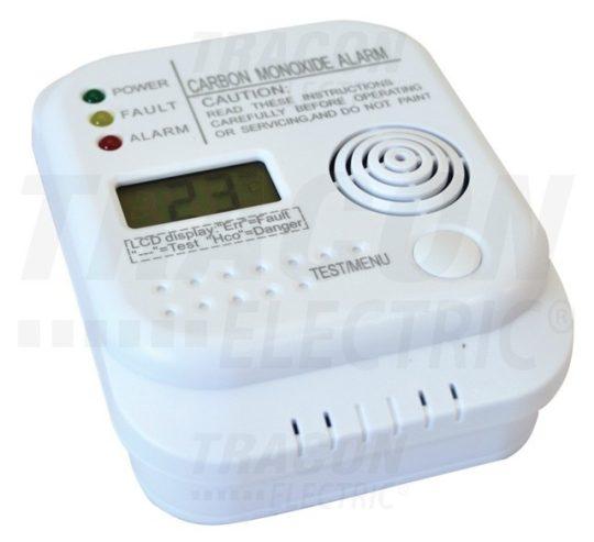 Tracon CO201A szén-monoxid vészjelző készülék LCD kijelzővel Tracon ( CO201A )