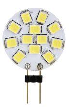 LED-es fényforrás, 2W-os teljesítményű, G4 foglalattal, 4000K-es színhőmérsékletü, SMD LED ( 140 lm ) Tracon ( LG4K2NW )