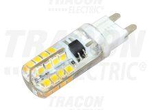 LED-es fényforrás, 3W-os teljesítményű, G9 foglalattal, 4000K-es színhőmérsékletü, SMD LED ( 180 lm ) Tracon ( LG9S3NW )
