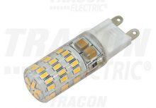 Tracon, LG9S4NW, LED-es fényforrás, 4W-os teljesítményű, G9 foglalattal, 4000K-es színhőmérsékletü, SMD LED ( 300 lm ) Tracon ( LG9S4NW )