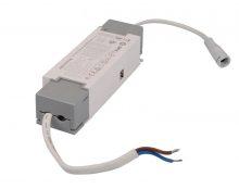 Dimmelhető LED meghajtó 40 W-os panelekhez 230 VAC, 0,23 A / 24-38 VDC, 950 mA, 1-10 V (Tracon LPCC40W110D)