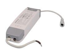Dimmelhető LED meghajtó 40 W-os panelekhez 180-240 VAC, 0,23 A / 28-42 VDC, 950 mA, TRIAC (Tracon LPCC40WD)