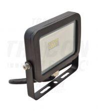 Tracon RSMDJ10 LED-es, SMD fényvető, 10 W teljesítménnyel, fekete színben, 4500K színhőmérséklettel, IP65-ös védelemmel, 800 lm fényerővel