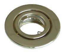Beépíthető hidegtükrös arany spot lámpatest, MR11-es foglalattal, 30°-ban állítható, (MAX 35W) D=78mm (Tracon TLC-1G)