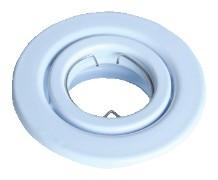 Beépíthető hidegtükrös fehér spot lámpatest, MR11-es foglalattal, 30°-ban állítható, (MAX 35W) D=78mm (Tracon TLC-1W)