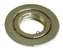 Beépíthető hidegtükrös arany spot lámpatest, MR16-es foglalattal, 30°-ban állítható, (MAX 50W) D=105mm (Tracon TLC-6G)
