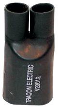 Tracon, V23012, zsugor végelzáró, 2 eres árnyékolatlan kábelhez, gyantás, 2×4-2×35 mm2 Tracon (V23012)