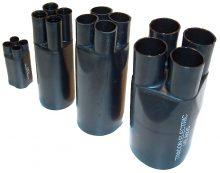 Zsugor végelzáró, 4 eres árnyékolatlan kábelhez, gyantás, 4×35-4×50 mm2 Tracon (VE4021)