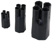 Zsugor végelzáró, 4 eres árnyékolatlan kábelhez, gyantás, 4×35-4×50 mm2 Tracon (VE4021C)
