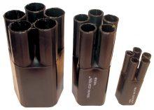 Zsugor végelzáró, 5 eres árnyékolatlan kábelhez, gyantás, 5x16-5x35 mm2 Tracon (VE54019)