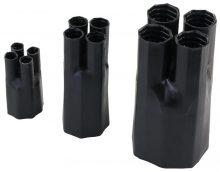 Zsugor végelzáró, 4 eres árnyékolatlan kábelhez, gyantás, 4×70-4×120 mm2 Tracon (VE5527C)