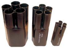 Zsugor végelzáró, 5 eres árnyékolatlan kábelhez, gyantás, 5x35-5x70 mm2 Tracon (VE55524)