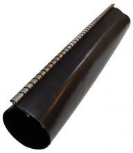Cipzáras gyantás zsugorcső, 146/38 mm 2:1/3:1 zsugorodás, fekete, 1,5 m-es Tracon ( ZSJR146/38 )