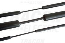 Tracon, ZSV240, zsugorcső, vékonyfalú, 24/8 mm, 3:1 zsugorodás , fekete, 1 m-es Tracon (ZSV240)