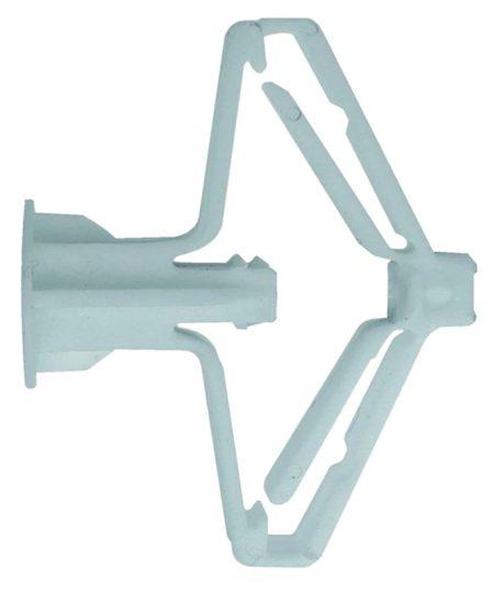 Tracon GSZT Gipszkarton szárnyas tipli L=55mm, D=10mm, PA6.6