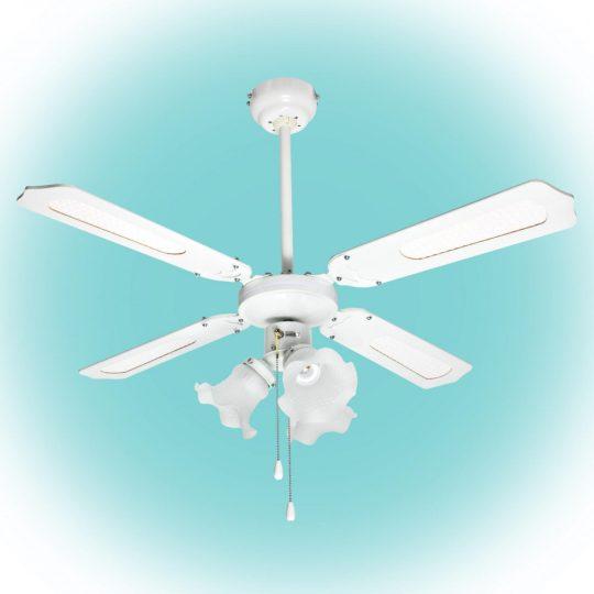 HOME CF 1050 L Mennyezeti ventilátor, fehér, 3xE27 lámpa, 105 cm, 50 W ( CF 1050 L )