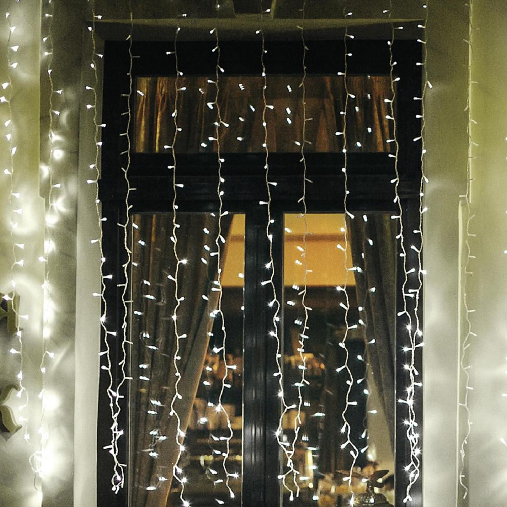 HOME KAF 210LC LED-es jégcsap fényfüggöny, 2x1m, IP44, 230V ( KAF 210LC )