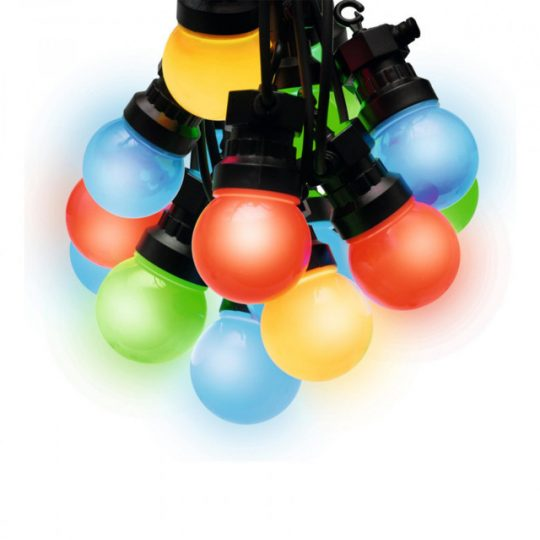 HOME LPL 10 LED-es izzósor, gömb alakú, színes, 10db-os, 230V ( LPL 10 )
