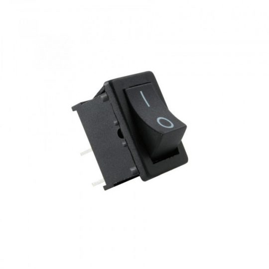 USE ST 1/BK Mini billenőkapcsoló, 250V, 1ák, fekete ( ST 1/BK )