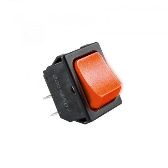 USE STV 01 Világítós billenőkapcsoló, 250V, 2ák, piros ( STV 01 )