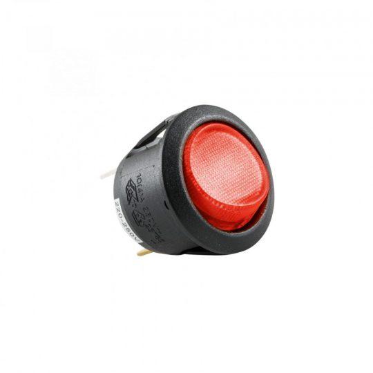 USE STV 07 Világítós billenőkapcsoló, 250V, 1ák, piros ( STV 07 )