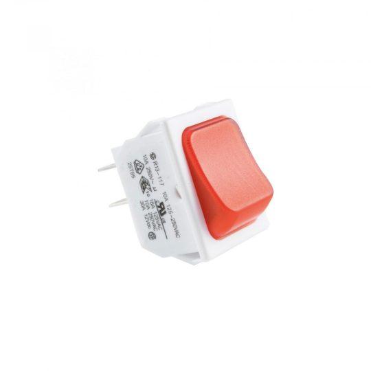 USE STV 101 Világítós billenőkapcsoló, 250V, 2ák, piros ( STV 101 )