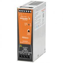 Tápegység 1 fázisú, 120W, 24V DC kimenettel, 5A, 100...240 V AC, 50/60 Hz, PRO ECO (WEIDMÜLLER 1469480000)