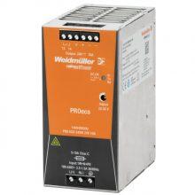 Weidmüller, PRO ECO, 1469490000, tápegység 1 fázisú, 240W, 24V DC kimenettel, 10A, 100...240 V AC, 50/60 Hz, PRO ECO (WEIDMÜLLER 1469490000)