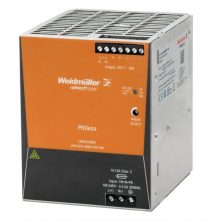 Tápegység 1 fázisú, 480W, 48V DC kimenettel, 10A, 100...240 V AC, 50/60 Hz, PRO ECO (WEIDMÜLLER 1469610000)