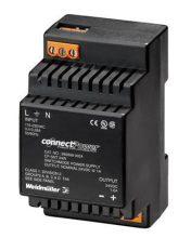 Tápegység 1 fázisú, 24W, 12V DC kimenettel, 1.5A, 100...240 V AC, 50/60 Hz, CP SNT(WEIDMÜLLER 9928890012)