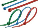 Színes kábelkötegelők