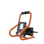 Hordozható LED munkalámpa (reflektor) konnektorral (IP44)