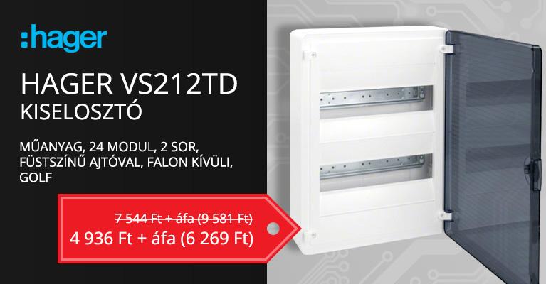 Hager VS212TD