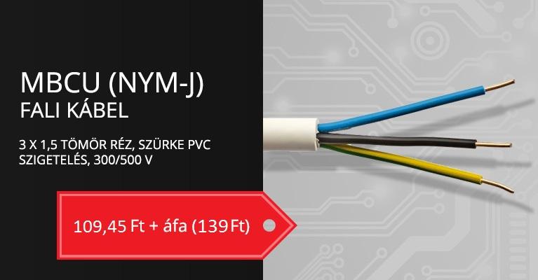 MBCU (NYM-J) 3X1,5 MM2